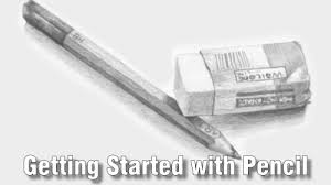 online art class getting started with pencil drawing paint
