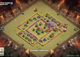 Clash Of Clans Maps Clash Of Clans Layouts For Farming And Clan Wars