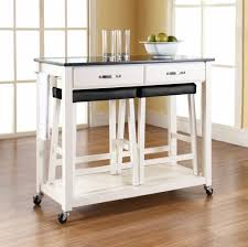 Shelves With Wheels by Kitchen Kitchen Island On Wheels With Awesome Small Portable