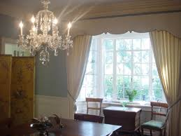 dining room bay window treatments dining room home interior