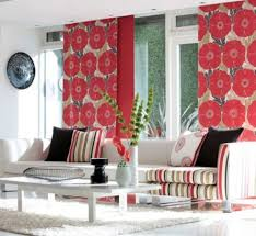 Home Decorating Fabric | using fabric for home decor projects room bold wallpaper and