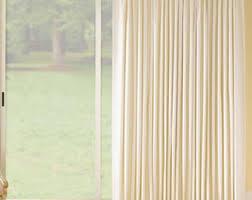 Curtains For Patio Door Patio Door Curtains Etsy