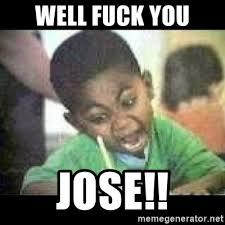 Fuck You Kid Meme - well fuck you jose black kid coloring meme generator