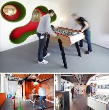 jeux bureau espace de travail collaboratif et babyfoot de table et table ping