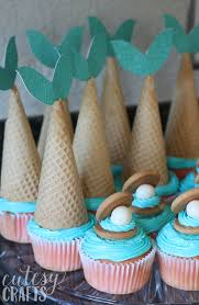 mermaid cupcakes diy mermaid cupcakes cutesy crafts