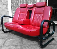 Man Cave Sofa by Classic Car Couches Car Seat Couch Car Parts Decor Pinterest