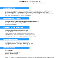 simple resume sle for fresh graduate pdf to excel mechanical engineering resume sle for freshers archivecareer rare