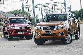 Common Comparativo: Toyota Hilux vs. Nissan Frontier - Motor Show &HU55