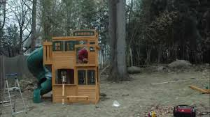 Costco Playground Costco Shebyville Deluxe Playset Installation Youtube