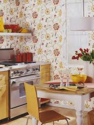 Wallpaper Designs For Kitchen Flower Wallpaper For Murals With Personality