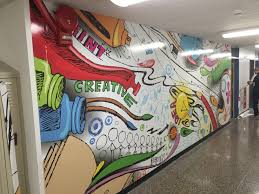 vinyl wall art for galway elementary school plan print systems vinyl wall art from plan and print systems paint near syracuse ny