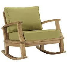 Teak Patio Outdoor Furniture by Marina Patio Teak Rocker U2014teak Patio Chair U2014 Manhattan Home Design