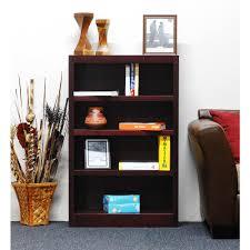 Sauder Beginnings 3 Shelf Bookcase by Sauder Beginnings Cinnamon Cherry Open Bookcase 409086 The Home