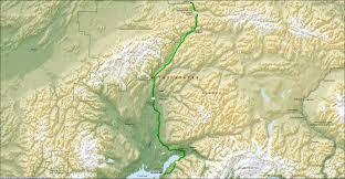 Alaska Route Map by Alaska 2008 Healy Ak To Anchorage Ak