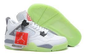 Comfortable Nike Shoes Comfortable Nike Air Jordan 4 Shoes Men U0027s White Cement Grey Black