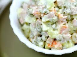 marmitons recettes cuisine photo de recette salade russe venue d espagne ensaladilla russa