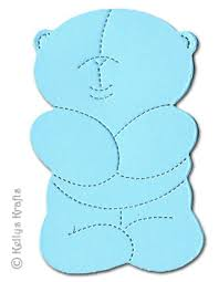 cuddly teddy die cut shapes pack of 10 0 44