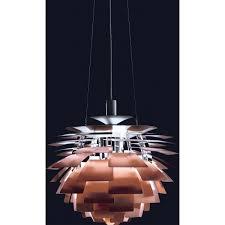 Artichoke Chandelier Ph Artichoke Pendant Copper Louis Poulsen Horne