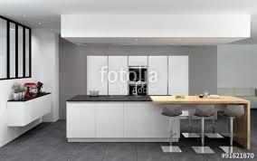 cuisine blanc mat sans poign cuisine blanc mat excellent beautiful cuisine noir et blanc et bois