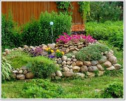 garden captivating rock garden designs breathtaking green