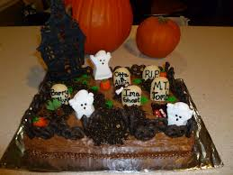 haunted graveyard cake ideas u2014 fitfru style halloween graveyard