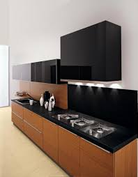 Small Kitchen Cabinet by Kitchen Design Modern Small Kitchen Design With Black And Brown