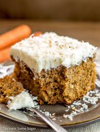 pineapple coconut carrot cake with coconut cream cheese frosting