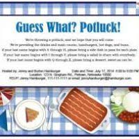 potluck email invitation template justsingit