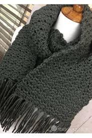 simple pattern crochet scarf scarf for men free crochet pattern