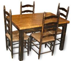 Buy Farmhouse Table Furniture Tables Country Primitive Farmhouse Table U0026 Chairs