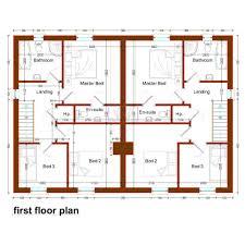 semi detached house floor plan uncategorized semi detached house floor plan exceptional for nice