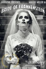 of frankenstein wedding dress honeybee vintage bridal shoot and