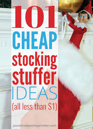 Ideas For Stocking Stuffers 101 Cheap Stocking Stuffer Ideas Passionate Penny Pincher