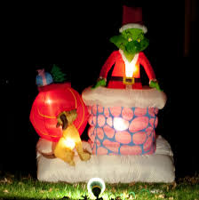 Outdoor Christmas Decorations Sale by Grinch Inflatable Christmas Decorations U2013 Decoration Image Idea