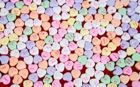 s candy hearts s candy conversation hearts with simple words of