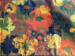 Heavy Drapery Fabric Vintage Floral Fabric Cotton Drapery Fabric Upholstery Fabric