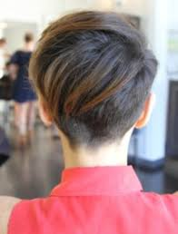 short hair from the back images short hair back of head hair style and color for woman