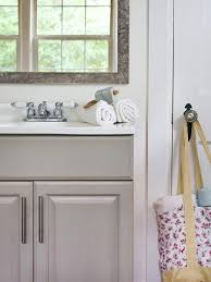 what paint is best for bathroom cabinets updating a bathroom vanity hgtv