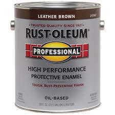 rust oleum professional 1 gal white gloss protective enamel case