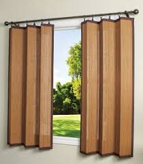 Outdoor Bamboo Curtains Bamboo Ring Top Curtain Brp12 40 Inch L X 63 Inch H Indoor Outdoor