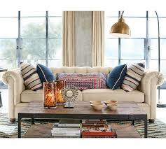 pottery barn chesterfield sofa elegant chesterfield couch in upholstered sofa pottery barn design