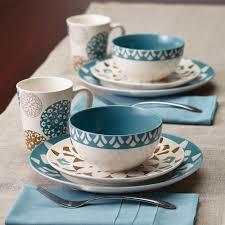 dining room sango 40 brown stoneware dinnerware set