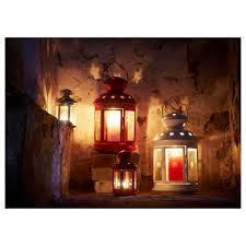 rotera lantern for block candle ikea