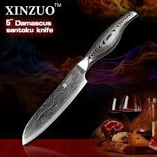 forged japanese kitchen knives 5 inches santoku knife japanese vg10 damascus kitchen knives