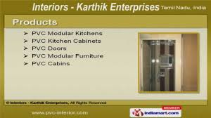 Pvc Kitchen Furniture Pvc Modular Furniture By Interiors Karthik Enterprises Chennai