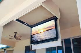 tv a soffitto selezionare staffa girevole estensibile per il soffitto tv