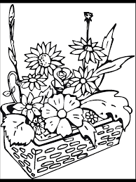plants and flowers coloring pages 15794 bestofcoloring com