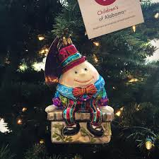 our annual christopher radko children s of alabama ornaments are