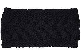 Navy Velvet Cushion Kmystic Plain Braided Knit Headband Black At Amazon Women U0027s