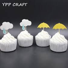 aliexpress com buy ypp craft cloud and umbrella party cupcake